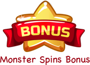 Monster spins bonus